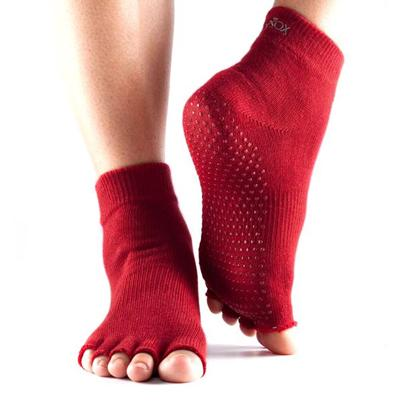 Half Toe Ankle Grip - red