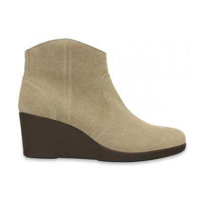 Leigh Suede Wedge Bootie