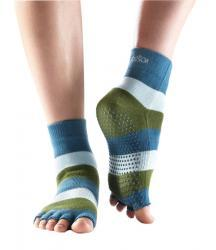 Half Toe Ankle Grip - green/blue