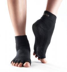 Half Toe Ankle Grip - black