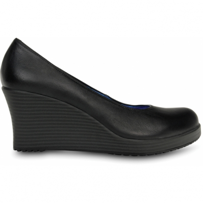 A-Leigh Closed Toe Wedge