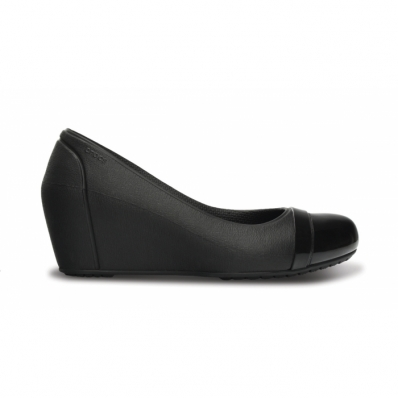 Cap Toe Wedge