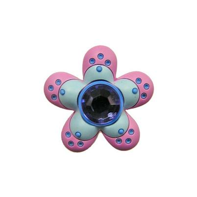 Jibbitz™ - Round Dot Flower Blue